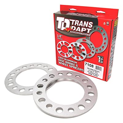 Trans-Dapt 7108 Light-Duty Wheel Spacers: Automotive