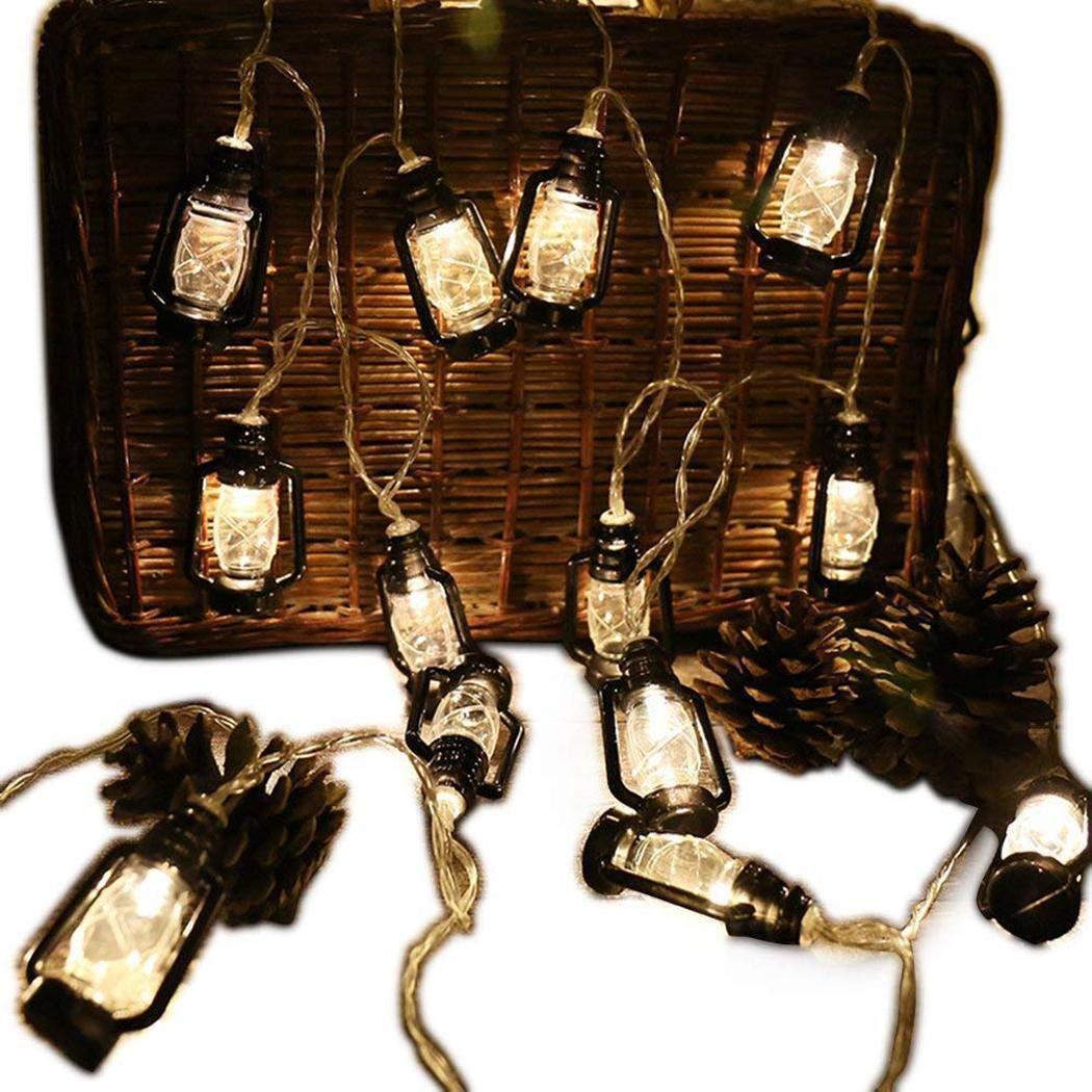 Energy-saving Lantern Shape LED Fairy String Lights Home Decoration