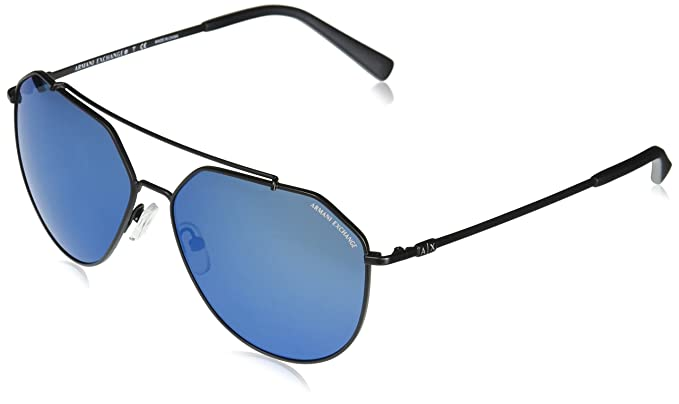 68a47ab1ba Image Unavailable. Image not available for. Color  Armani Exchange Men s  Metal Man Sunglass Non-Polarized Iridium Aviator ...