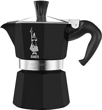 Bialetti 3752 - Cafetera Italiana, lacada, 3 Tazas, Color Negro ...