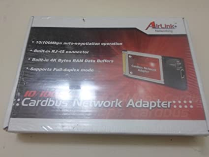 AIRLINK CARDBUS ADAPTER WINDOWS 7 64 DRIVER
