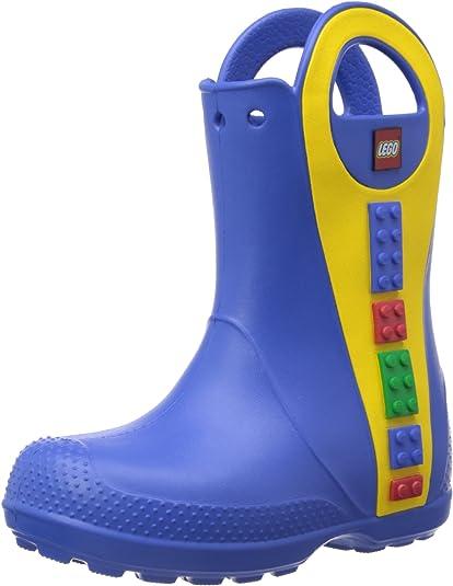 Bottes de Pluie,Mixte enfant Crocs Handle It