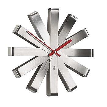 Umbra Ribbon Modern Wall Clock