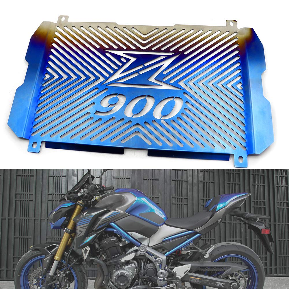 Radiator Guard Grill Cover, Motorparty Water Tank Grille Grill Guard Protector For KAWASAKI Z900 2016-2017, Stainless Steel motoparty
