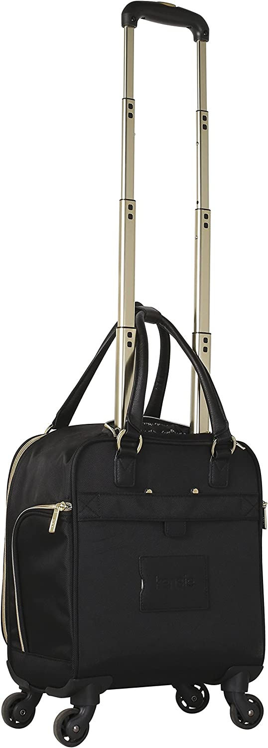 "Black with Gold Kensie 16/"" rolling underseater"