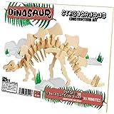 Professor Puzzle - UK Dinosaur Construction Kit Stegosaurus Jigsaw Puzzle