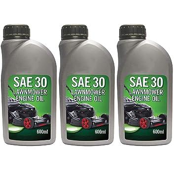 Spares2go 0,6 l 4 tiempos motor aceite 600 ml para cortadora de ...