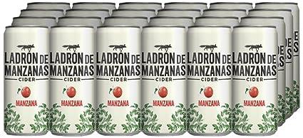 Ladrón de Manzanas Cider - Caja de 24 Latas x 330 ml - Total: 7.92