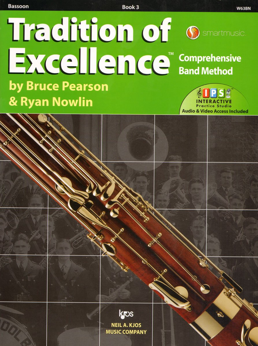 W63BN - Tradition of Excellence Book 3 - Bassoon