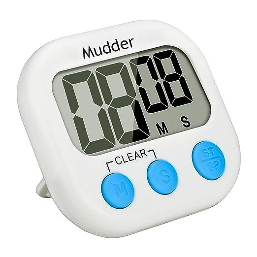 3 opinioni per Mudder Timer Digitale da Cucina Magnetico con Grande Display LCD