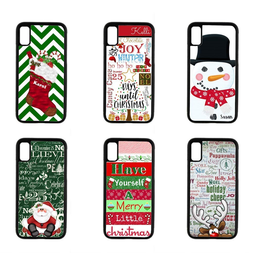 Amazoncom Christmas Case For Iphone Xr Xs Max X 8 7 6 5 Snowman