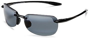Maui Jim Sandy Beach Gloss Black/Neutral Grey Sunglasses (MJ-Sandy Beach-408-02-56) x7SyE