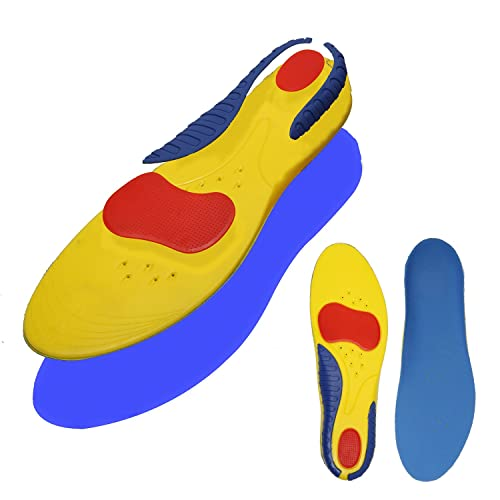 90b1b832bd Shoe Inserts Orthotics for Plantar Fasciitis - Arch Support Relieve Feet  Pain, Heel Pain -