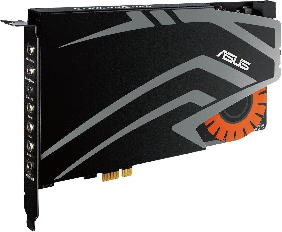 c/ódigo de Promo Wow Asus Tarjeta de Audio para Juegos Strix Raid Pro PCI Express de 7,1 Canales