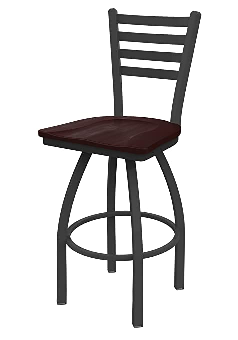 Fabulous Holland Bar Stool Co 41036Pwdcmpl 410 Jackie Swivel Bar Stool 36 Seat Height Dark Cherry Maple Pabps2019 Chair Design Images Pabps2019Com