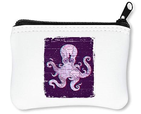 più recente affe6 28442 Octopus Map Portafoglio Con Cerniera Porta Monete: Amazon.it ...