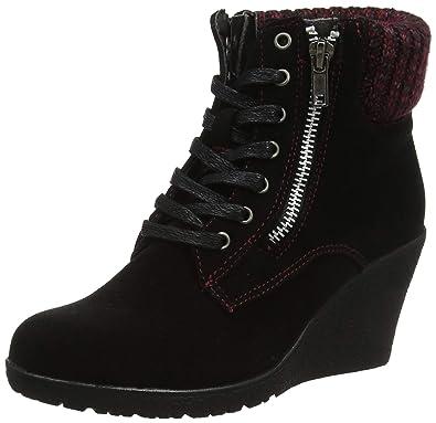 A Ankle 36 Noir To Femme Eu Bottines Wedge Browns Cute Joe Boots black Ax1nRa8q