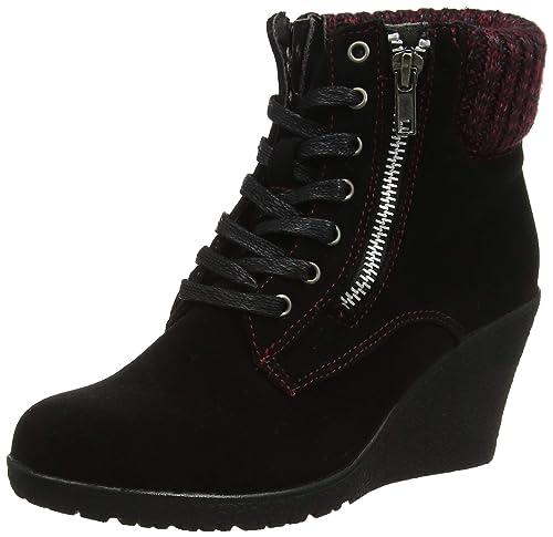 509393160c1 Joe Browns Women s Cute Wedge Ankle Boots (Black A)