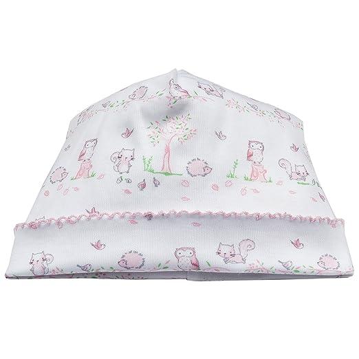 12384358630 Amazon.com  Kissy Kissy Baby Girls Natures Nursery Print Hat - Pink-Preemie   Clothing