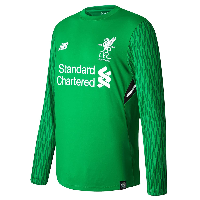 2017-2018 Liverpool Home Long Sleeve Goalkeeper Shirt (Kids) B071YWM9BQ