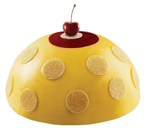 Cuisineonly torta flex-Molde De silicona 6 medias esferas pequeñas, diámetro De 180 mm