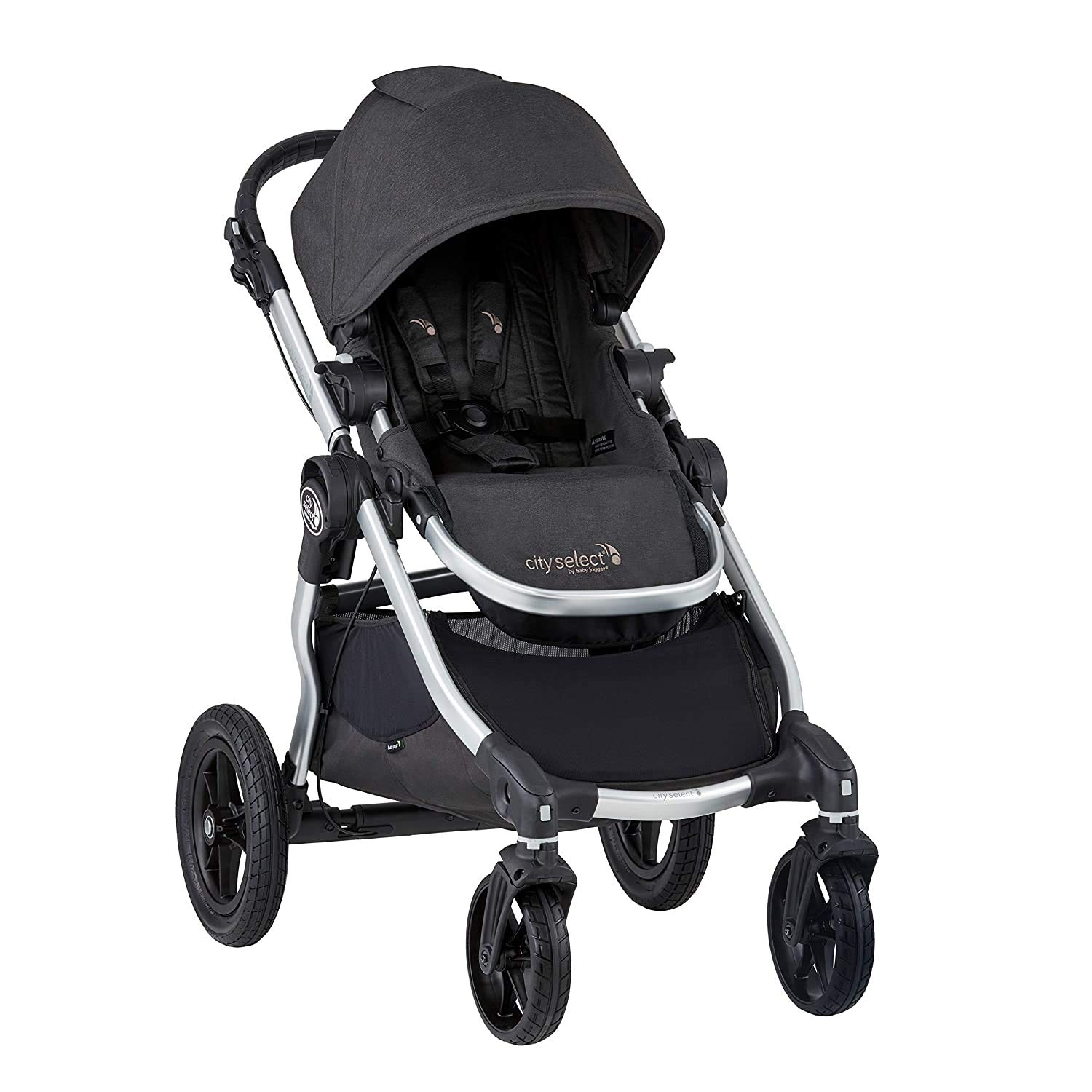 New Baby Jogger City Select pushchair second seat adaptors Black