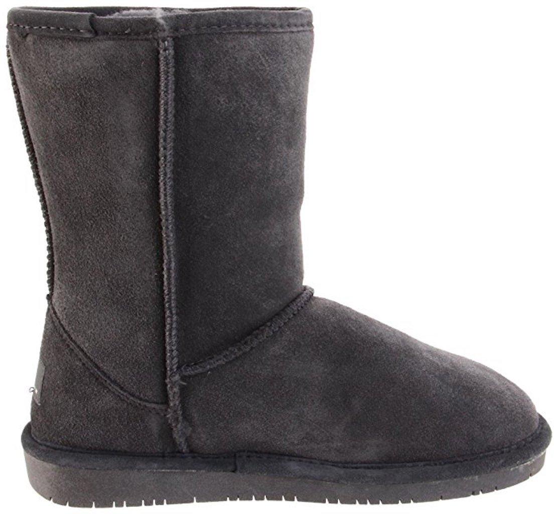 BEARPAW Women's Emma B(M) Fashion Boot B078YKK3DG 7 B(M) Emma US|Short Charcoal 5b5e9f