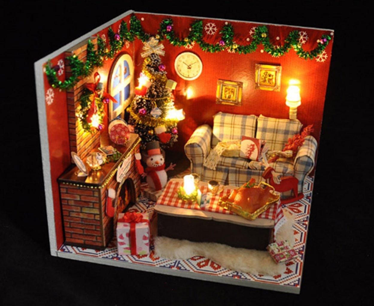 Dreamlink of Christmas Flever DIY Musical House Kit Flever® SG/_B01N7FA18T/_US