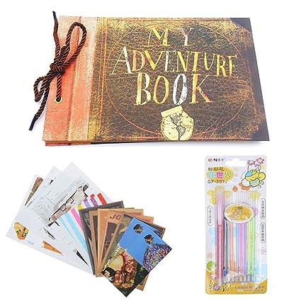 Amazon My Adventure Book Photo Album Diy Scrapbook Album Retro