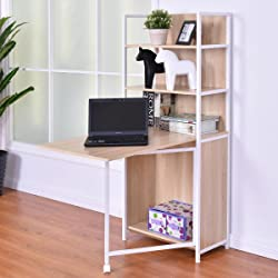 Fold Out Convertible Study Workstation