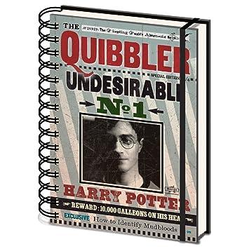 Amazon.com: Harry Potter la libretas A5 cuaderno: Office ...