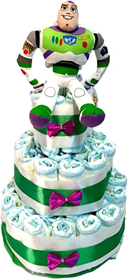 Pleasant Dodot Toy Story Nappy Cake Buzz Lightyear Amazon Co Uk Baby Funny Birthday Cards Online Inifodamsfinfo