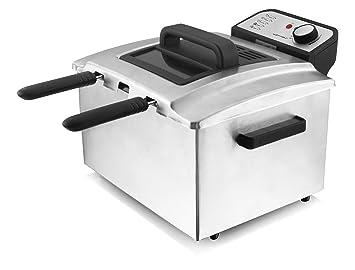 Emerio Deep Fryer Family Cooking 3000 W: Amazon.co.uk ...