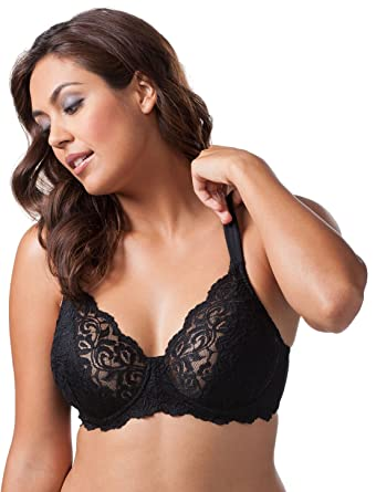 3e84d2e359c58 Leading Lady Women s Plus-Size Padded Lace Underwire Bra at Amazon Women s  Clothing store  Bras