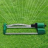 スプリンクラー 芝生スプリンクラー 散水機庭 散水 LUERME スプリンクラー 広範囲 首振りタイプ