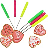 Buytra 6 Pack Scriber Needle Modelling Tool for Fondant and Sugar Cookie Making, Royal Icing, Chocolate Decorating, Random Color