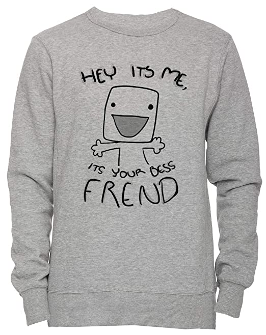 Your Bess Frend - Best Friend Unisexo Hombre Mujer Sudadera Jersey Pullover Gris Unisex Todos Los Tamaños Mens Womens Jumper Grey: Amazon.es: Ropa y ...