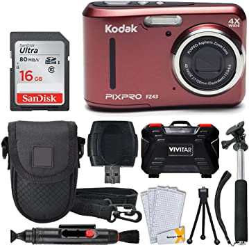 PHOTO4LESS Kodak PIXPRO FZ43 (Red) product image 2