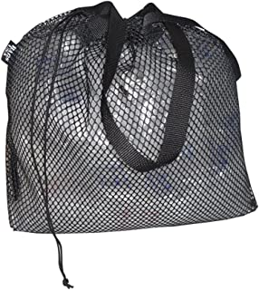 product image for Laundry Bag,Beach or Swim Bag, Nylon Drawstring Mesh Very Durable Made in USA.
