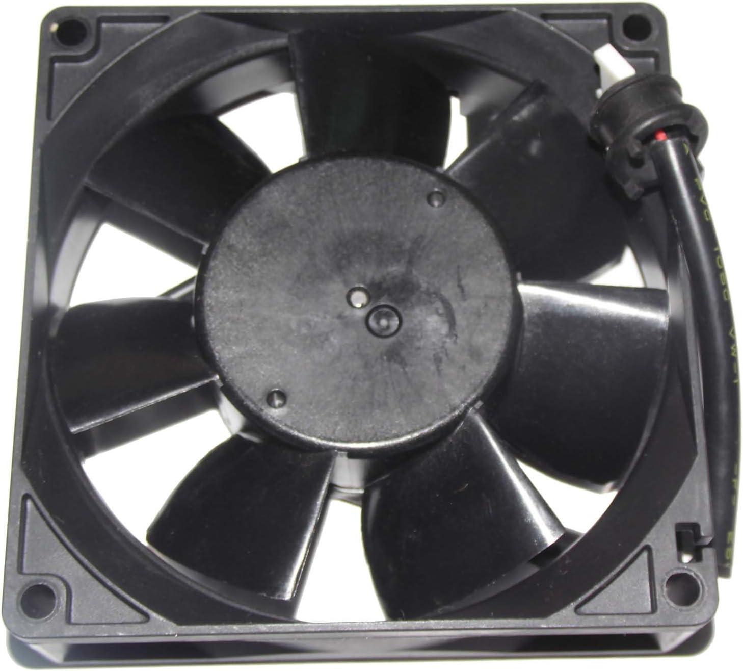 Melco 9025mm MMF-09D24TS RN9 24V 0.19A NC5332H44 MMF-09D24TS-RN9 2Wire Cooling Fan