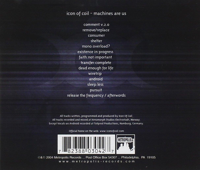 Icon Of Coil - Machines Are Us - Amazon.com Music