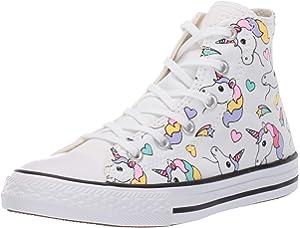 09acd1d5d2c751 Converse Kids  Chuck Taylor All Star Unicorn Print High Top Sneaker