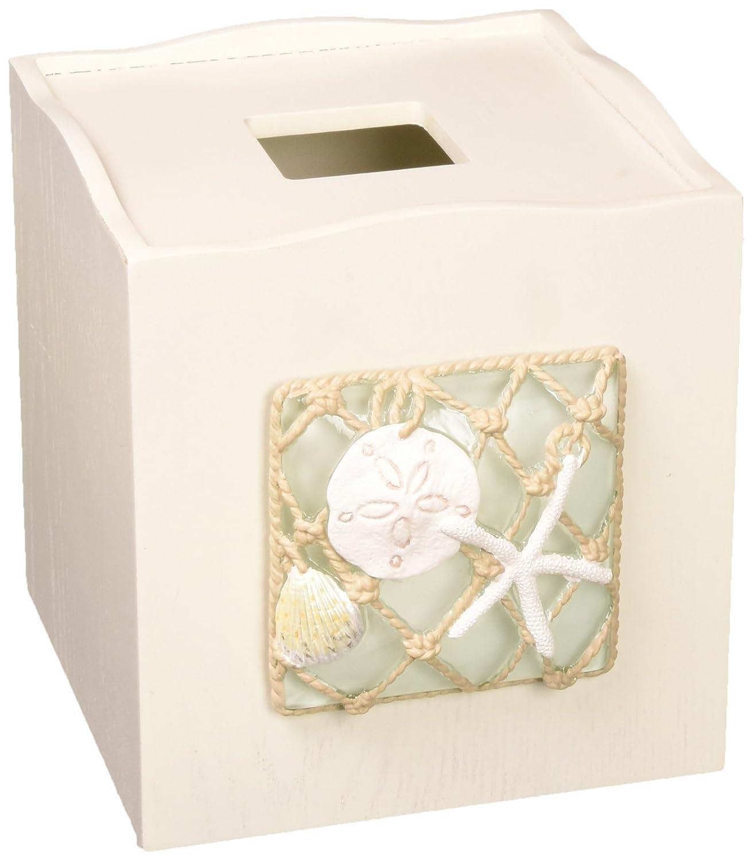Avanti Linens 13675EMUL Seaglass Tissue Cover, Medium, Multicolor
