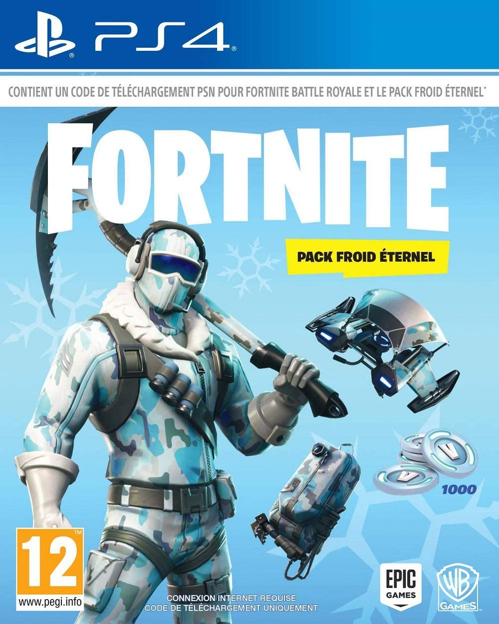 Fortnite : Pack froid éternel [Importación francesa]: Amazon.es: Videojuegos