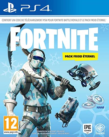 Fortnite Pack Froid Eternel Code De Telechargement Sans