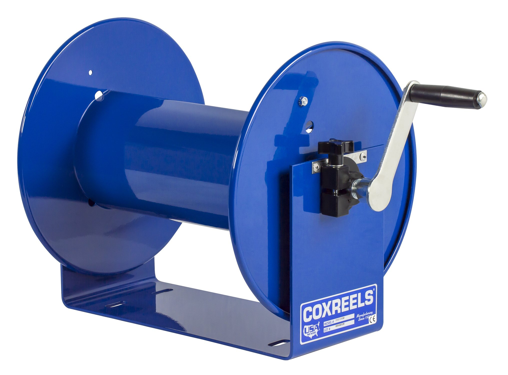 Coxreels 117-3-250 Compact Hand Crank Hose Reel, 4,000 PSI, Holds 3/8'' x 250' Length Hose, Hose Not Included by Coxreels (Image #5)
