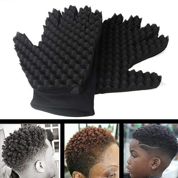 Amazon.com: Tpingfe - Esponja para el pelo con forma de onda ...