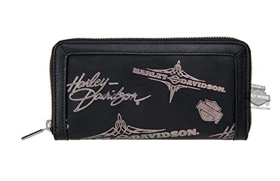 Harley-Davidson Womens Silver Flash Pinstriping with B S Black ... c78a5b5317