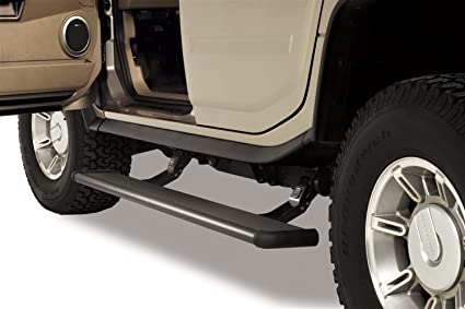 Electric Running Boards >> Amp Research 75107 01a Powerstep Electric Running Boards For 2003 2009 Hummer H2