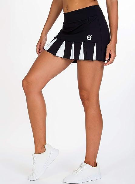 a40grados Sport & Style Feliz Falda de Tenis, Mujer: Amazon.es ...